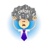 债务的人 免版税图库摄影