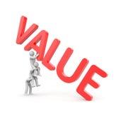 价值隐喻和配合 免版税库存照片