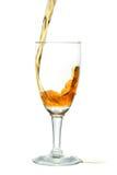 倾吐的威士忌酒 库存图片