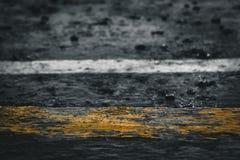 倾吐的雨 免版税库存照片