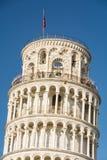 倾斜比萨塔的意大利 库存照片