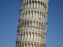 倾斜的中间塔 免版税图库摄影