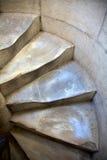 倾斜的比萨台阶塔 免版税图库摄影