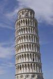 倾斜的比萨塔 免版税图库摄影