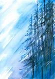倾斜结构树 免版税库存照片