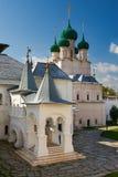 假定复活的大教堂和教会在罗斯托夫Kr 免版税库存图片
