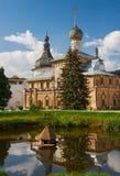 假定复活的大教堂和教会在罗斯托夫Kr 图库摄影