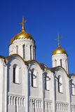 假定大教堂在弗拉基米尔,俄罗斯 免版税库存图片