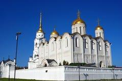 假定大教堂在弗拉基米尔,俄罗斯 图库摄影
