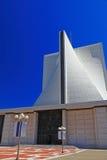 假定大教堂玛丽圣徒 图库摄影