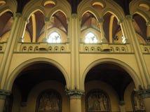 假定大教堂的圣玛丽,雅加达 免版税库存照片