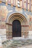 假定大教堂的门户在克里姆林宫,俄罗斯 库存图片