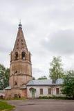 假定招标veliky教会的novgorod 17世纪的Znamensky大教堂 库存照片