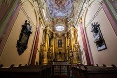 假定的大教堂大教堂,利沃夫州 免版税库存照片