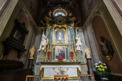 假定的大教堂大教堂,利沃夫州 库存图片