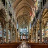 假定的大教堂大教堂 免版税图库摄影