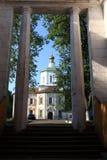假定的大教堂看法  库存照片