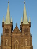 假定的教会, chrudim 免版税库存照片