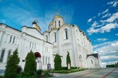 1507 1533年假定建立了大教堂年 弗拉基米尔, 免版税库存图片