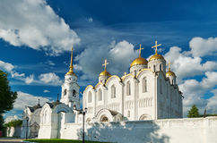 1507 1533年假定建立了大教堂年 弗拉基米尔, 图库摄影