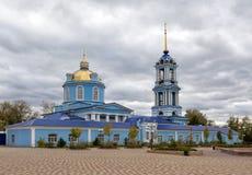 1507 1533年假定建立了大教堂年 Zadonsk 俄国 免版税图库摄影