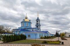 1507 1533年假定建立了大教堂年 Zadonsk 俄国 库存照片
