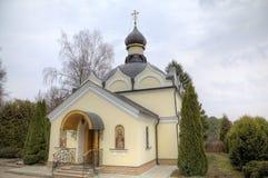 1507 1533年假定建立了大教堂年 Zvenigorod,俄罗斯 免版税图库摄影