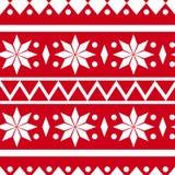 假日传统种族几何无缝的样式 r 皇族释放例证