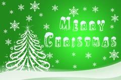 假日卡片的圣诞节例证 Ha的手拉的图象 库存图片