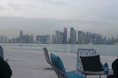 假日在卡塔尔 免版税库存照片