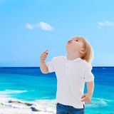 假日在海边 免版税库存图片