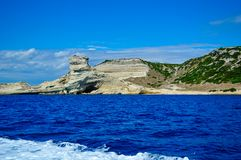 假日在Corse 库存照片