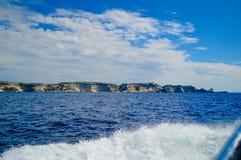 假日在Corse 库存图片