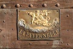 假日房子La Paternelle 免版税库存图片