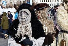 假日狂欢节在莫斯科 库存照片