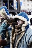 假日狂欢节在莫斯科 免版税库存照片