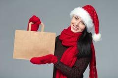 假日销售,购物,圣诞节概念 图库摄影