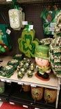 假日销售:St Patricks天 免版税库存图片