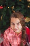 假日,礼物,圣诞节,童年和 免版税库存图片