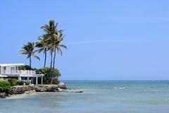 假期休息寓所在夏威夷 免版税库存照片
