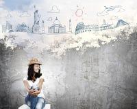 假期和旅行 免版税图库摄影