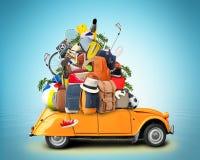 假期和旅行 库存照片