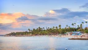 假期在多米尼加共和国 免版税库存图片
