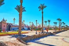 假期在Sharm El谢赫,埃及 库存照片