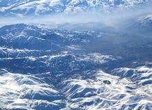 假牙山在冬天 免版税库存图片