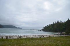 假装海湾--海角斯科特省公园 库存照片