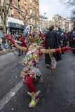 假装的人- Carnaval de巴黎2018年 图库摄影