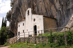 偏僻寺院圣valentino 免版税库存图片