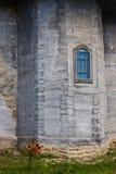 偏僻寺院墙壁 库存图片