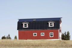 偏僻的农庄 免版税库存图片